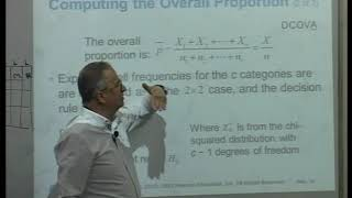 lecture 28: Ch11: 11.2 Chi-Square Test for Differences Among More Than Two Proportions