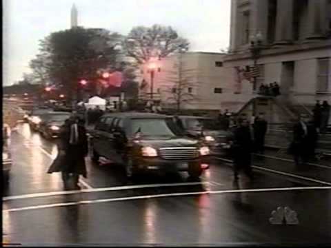 George W Bush 1st Inauguration - January 20, 2001 - ABC News Coverage Pt 4