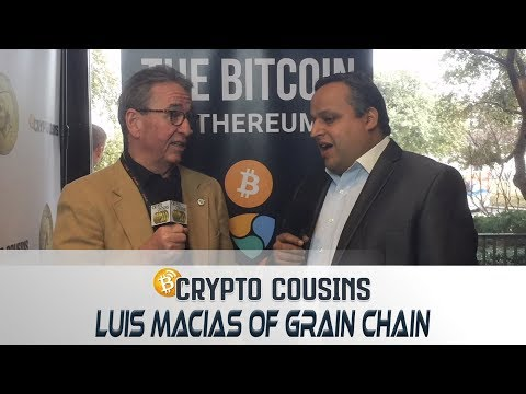 Interview About Grain Chain | 2018 Bitcoin Ethereum Blockchain Super Conference