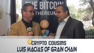 Interview About Grain Chain | 2018 Bitcoin Ethereum Blockchain Super Conference