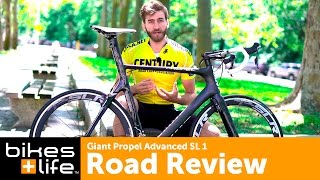 Giant Propel Advanced SL 1 Bike Review Video