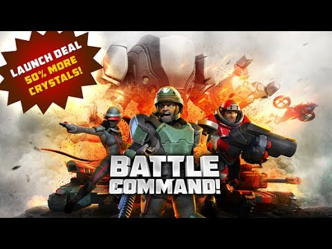 Battle Command! Android & iPhone / iPad GamePlay