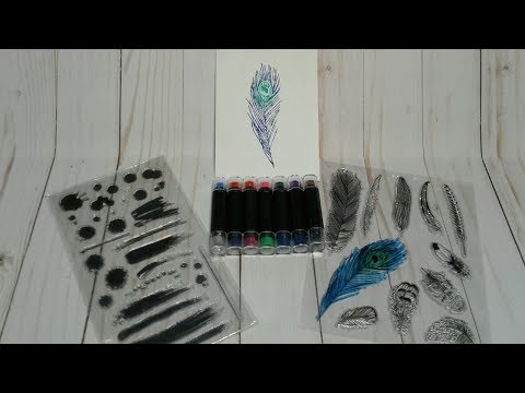 Demo and Review of Ink Pad Pens From Aliexpress