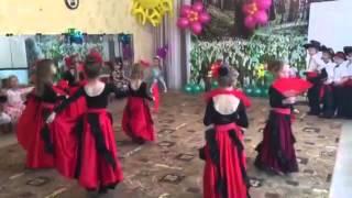 Испанский танец . Группа Радуга . Марина и Иван