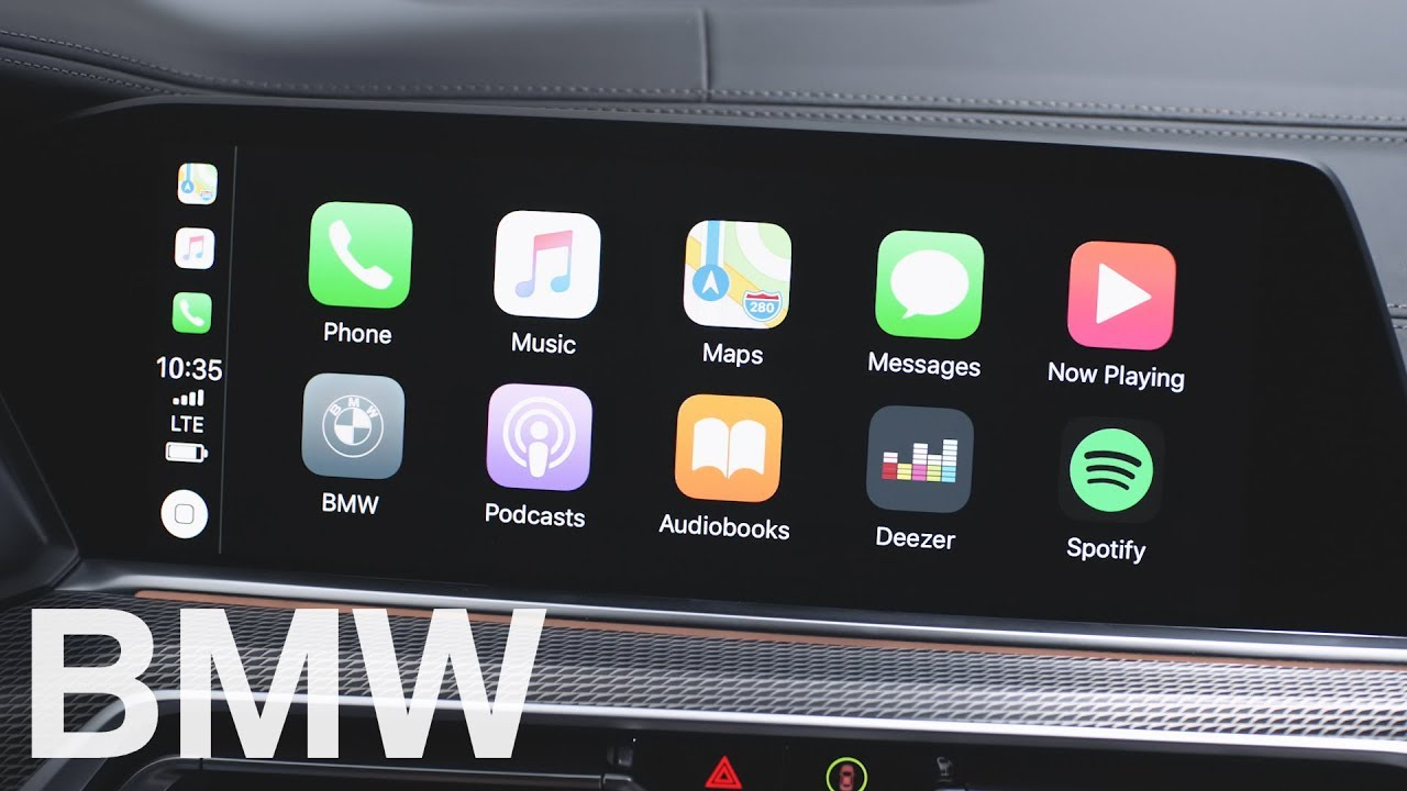 Connect your iPhone with Apple CarPlay - BMW How-To