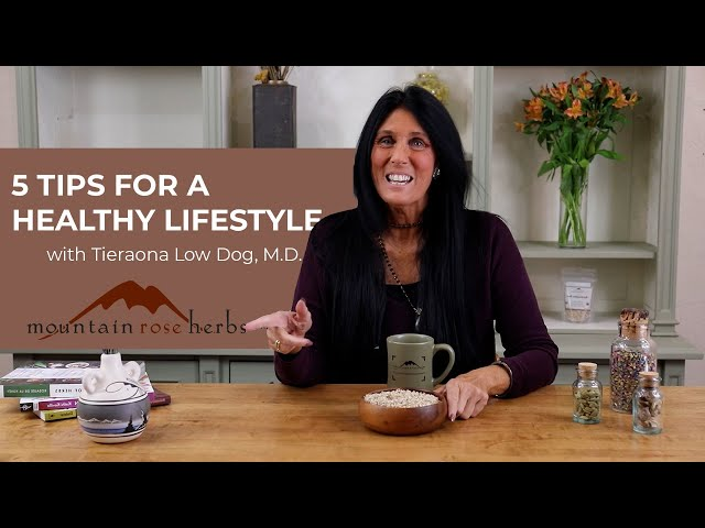 5 Tips for a Healthy Lifestyle with Dr. Tieraona Low Dog