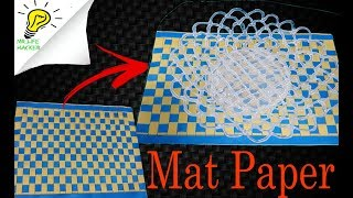 How to make mat with paper  Easy Paper Crafts & Arts for Kids | Mr.Life Hacker