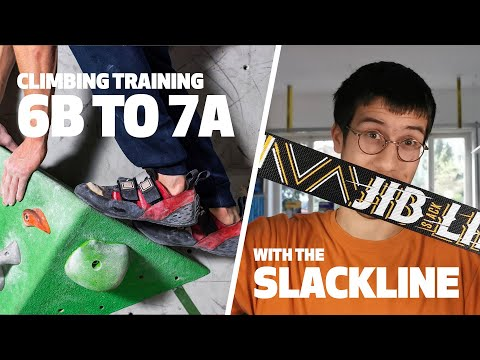 Improve your climbing skills by slacklining!