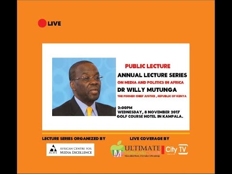 4th Annual Lecture On Media And Politics In Africa
