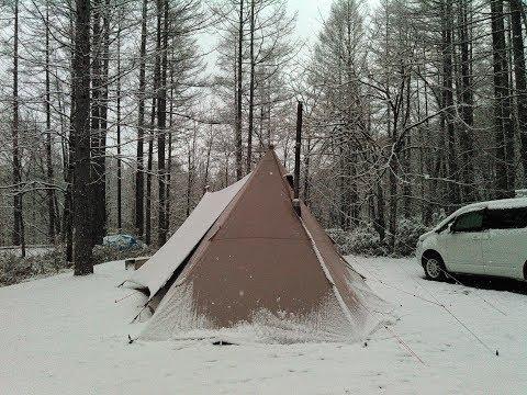 一色の森でソロキャンプ、 「こんきちジュニア」?たぶん?登場