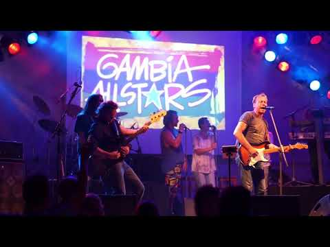 ROCK FOR GAMBIA 2017 mit den Gambia Allstars