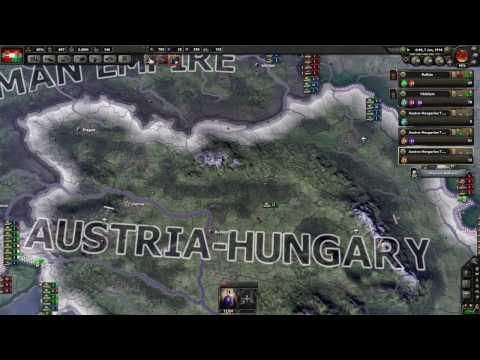 Hearts of Iron 4 Great War Mod - Osztrák-Magyar Monarchia #2 (HUN)