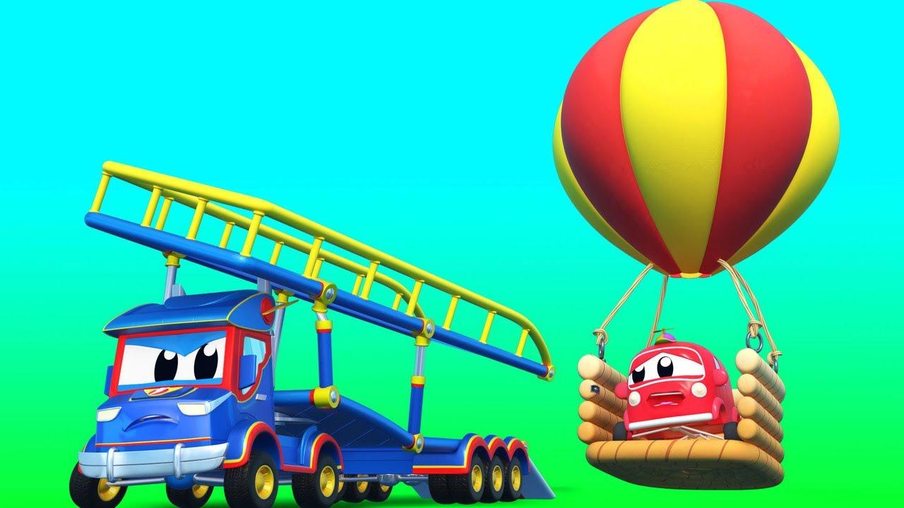 TRANSPORTER Kinder INTERNATIONALES BALLON FEST  | Super Truck | Car City World App