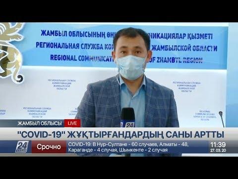 Жамбыл облысында коронавирус жұққандардың бірі Қордай ауданының тұрғыны