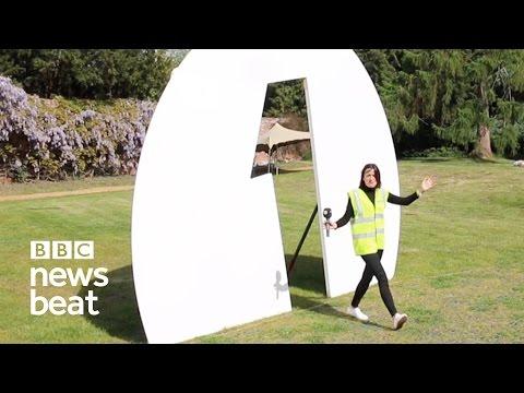 Radio 1's Big Weekend backstage tour | BBC Newsbeat