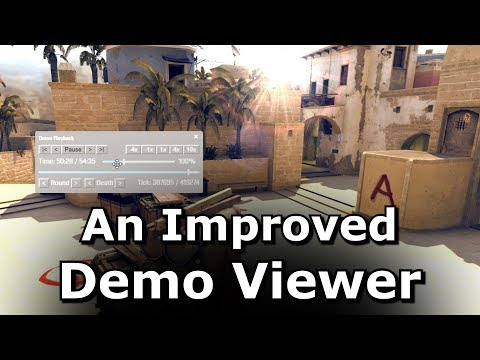 A Better Demo Viewer for CS GO - YouTube
