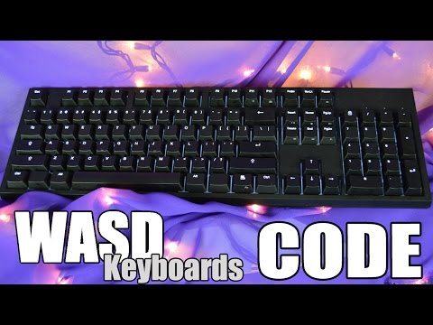 WASD Keyboards CODE Mechanical Keyboard Review - YouTube