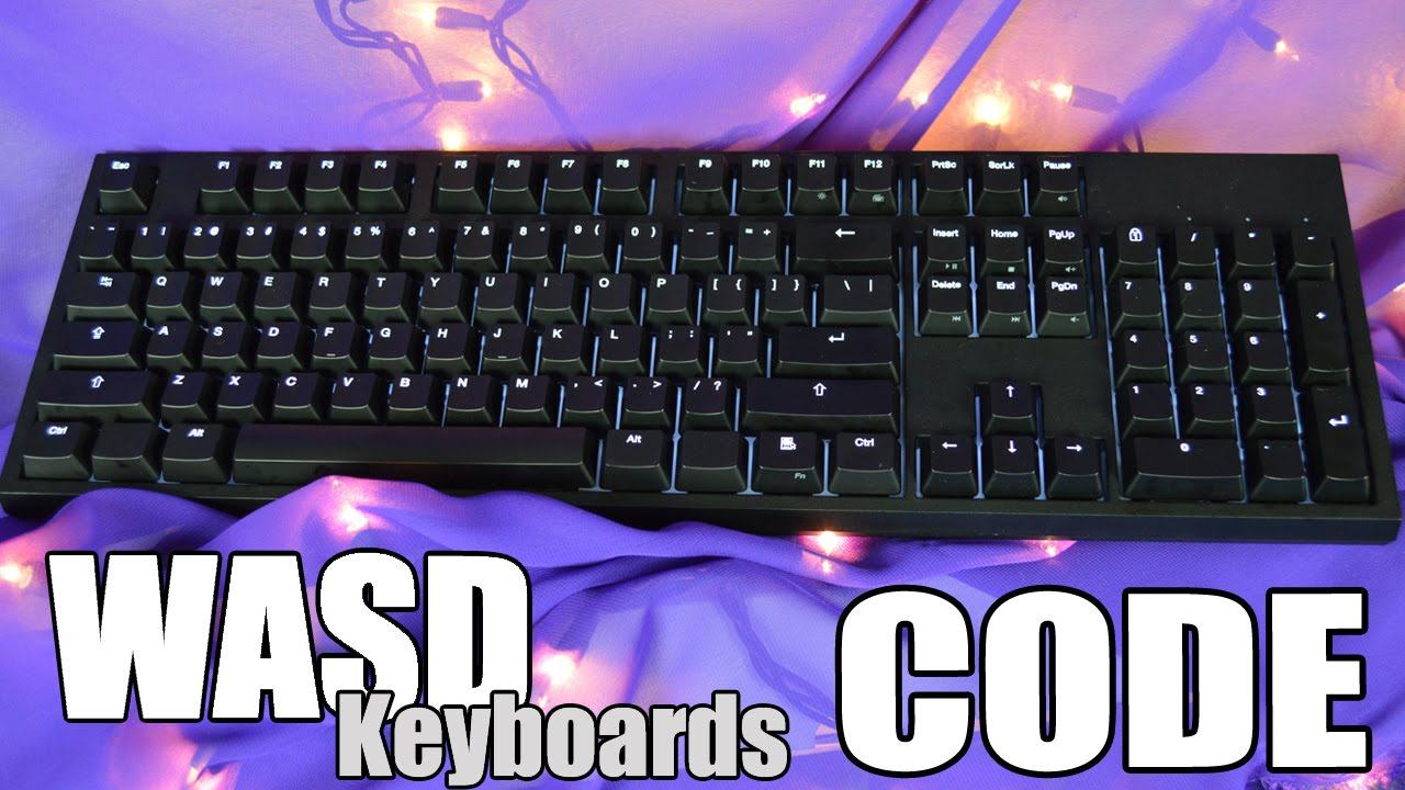 WASD Keyboards CODE Mechanical Keyboard Review