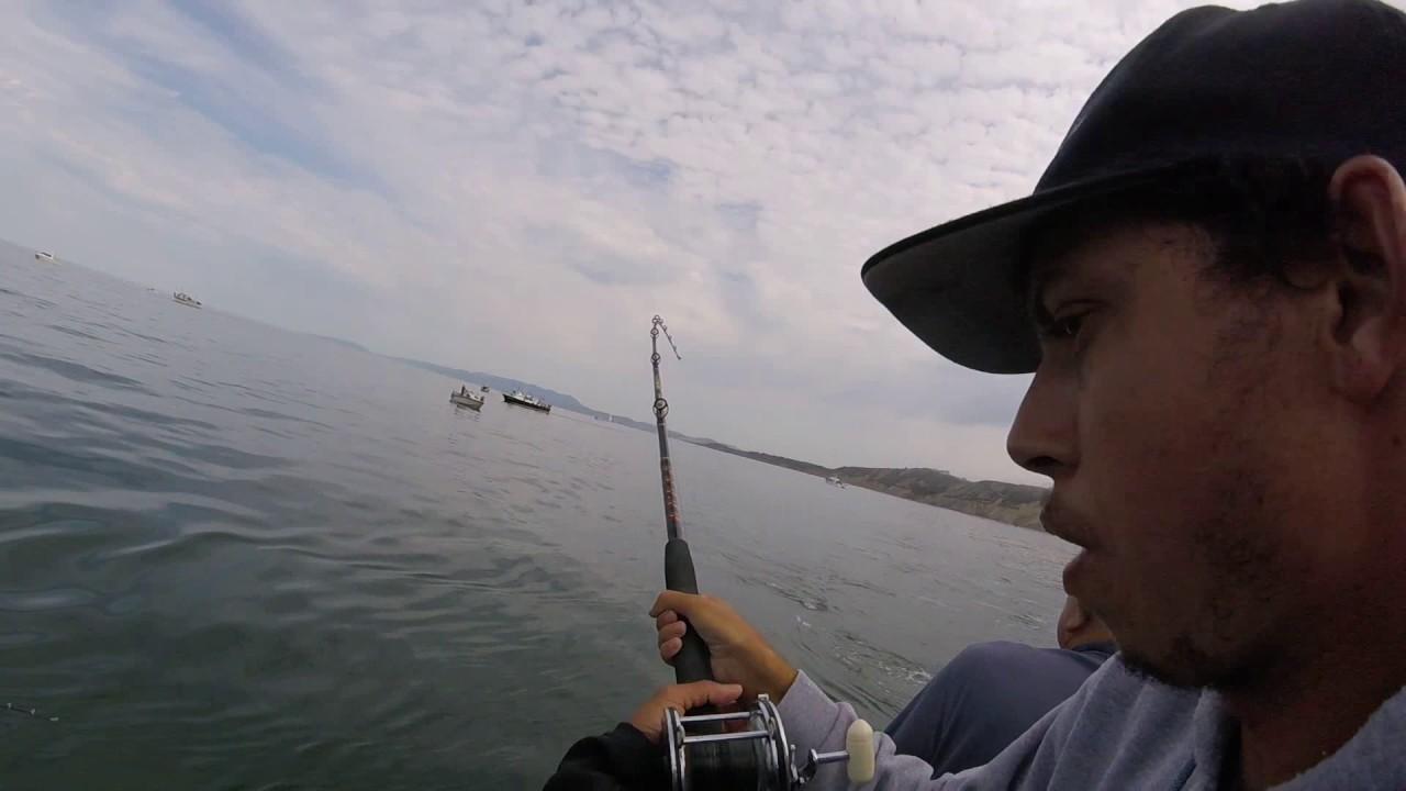 Salmon fishing on a charter boat youtube for Berkeley fishing charter