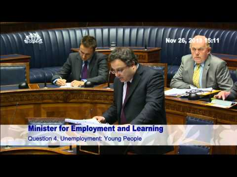 Question Time Minister for Employment and Learning 26 November 2013