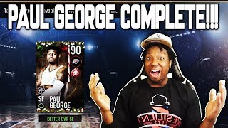 Baixar COMPLETING THE 90 OVR HOLIDAY MASTER PAUL GEORGE IN NBA LIVE MOBILE 19!!!
