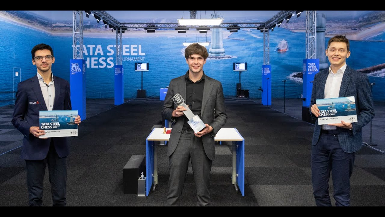 Official Award & Closing Ceremony - Tata Steel Chess Tournament 2021