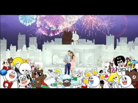 LINE TVC - THE ON LINE SONG - Sticker - JESSY & MATTEO (Philippines)