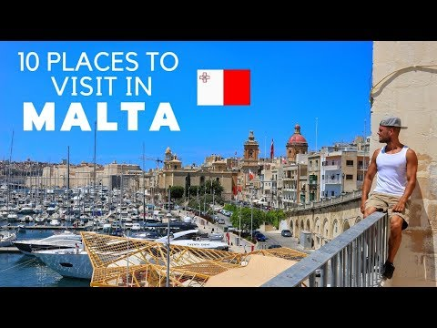 10 FANTASTIC places to visit in MALTA
