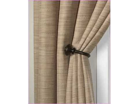 Curtains Ideas curtain hook tie backs : curtain holdbacks & tieback hooks - YouTube