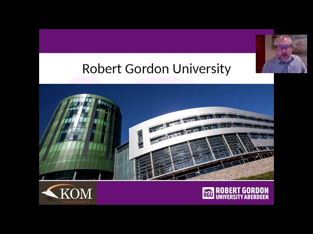Robert Gordon University Architecture brought to you by KOM COnsultants - March 2, 2017