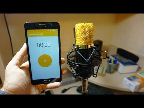 Collegare microfono per registrare da Smartphone!