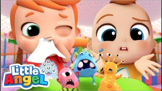 Stay Healthy, Don't Get Sick! | Good Hygiene Song | Little Angel Kids Songs & Nursery Rhymes
