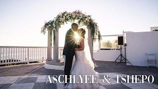 The Wedding of Aschlyee & Tshepo   Laguna Beach California