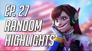 incredible d va ultimate random overwatch highlights episode 27