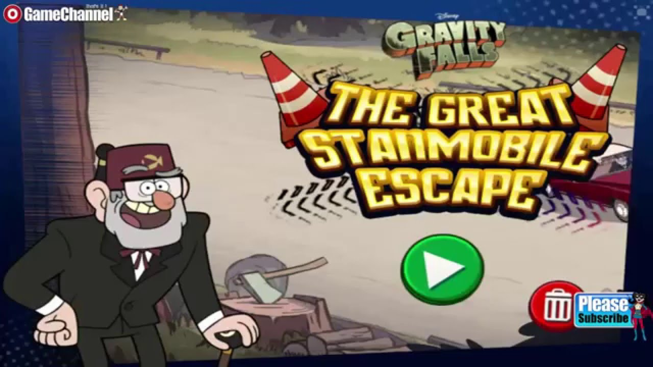 Gravity Falls The Great Stanmobile Escape Disney Games Online Free Games Gameplay Video Youtube