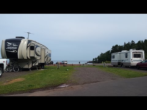 Two Harbors Minnesota (Burlington Bay) ~ Campground Review