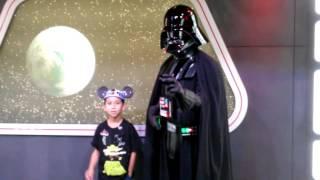 Darth Vader Confused my Son