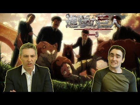 """Law & Pops React to Attack on Titan 3x20 - """"That Day"""" or For Faye! For Freedom!"""
