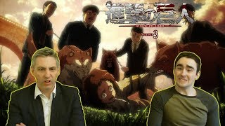 Law & Pops React to Attack on Titan 3x20 -