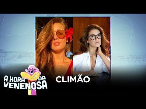 Camila Queiroz é confundida com a ex do marido