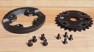 Federal Bmx - Impact Guard Sprocket - Black