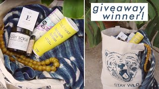 Repeat youtube video Giveaway Winner Announcement!!