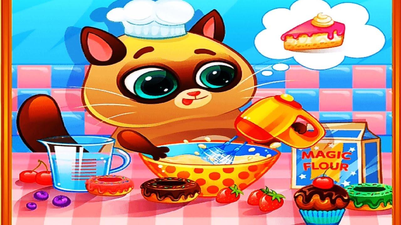 КОТЕНОК БУБУ #89 Мой виртуальный котик игровой мультик для ...