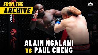 Alain Ngalani vs. Paul Cheng | ONE Championship Full Fight | December 2013