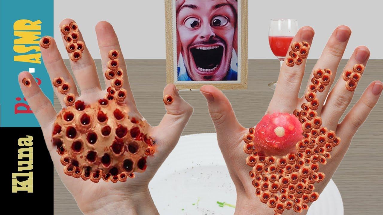 Kluna Tik Eating With Incredible Hands Worm Kluna Tik