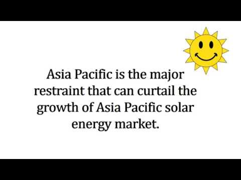 Asia Pacific (APAC) Solar Energy Market Outlook 2024