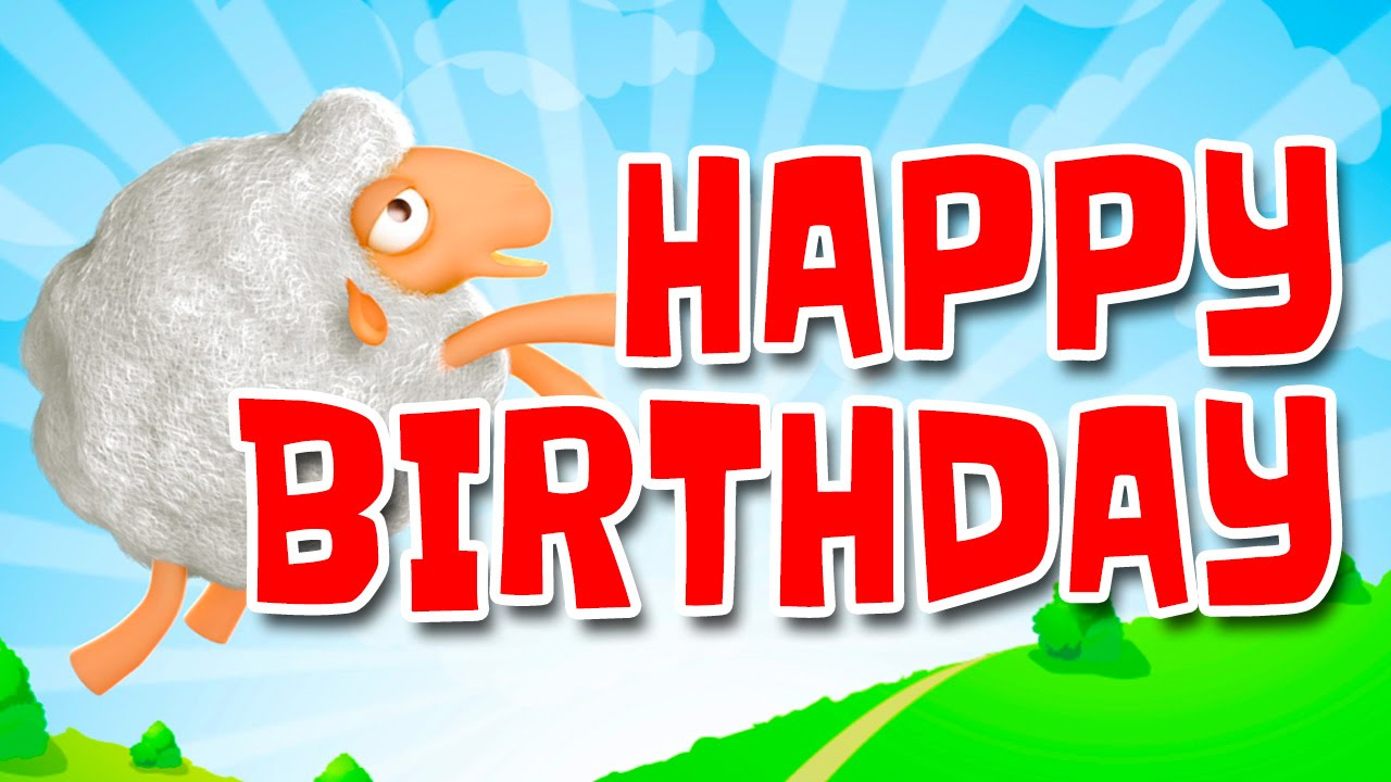 Happy Birthday Sheep Youtube