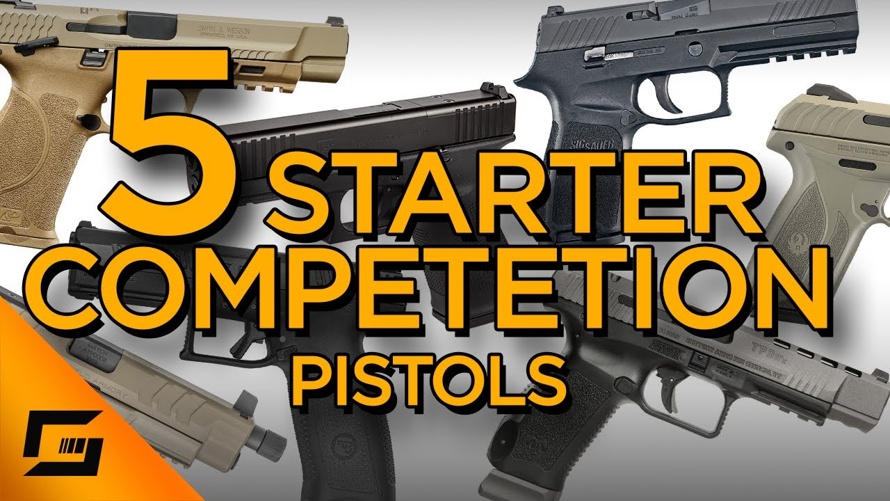 5 Starter Pistols For Competitive Shooting