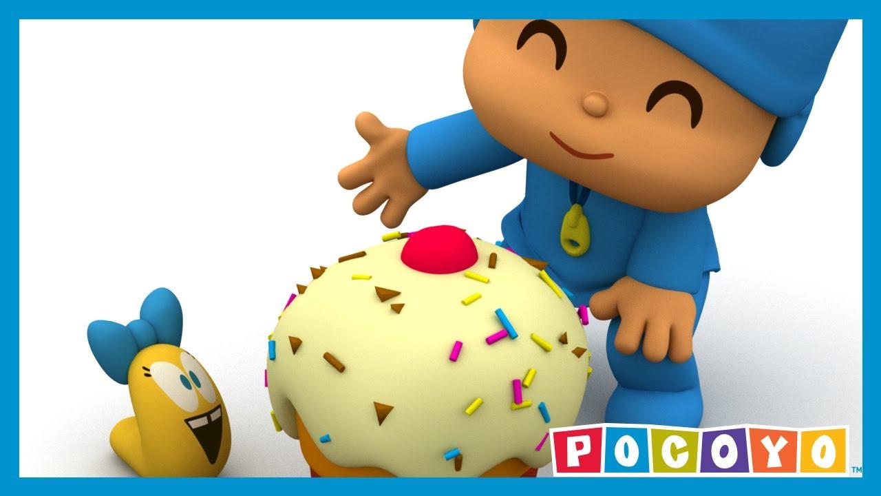 Pocoyo il piccolo amico di pocoyo 🍰 e s cartoni animati