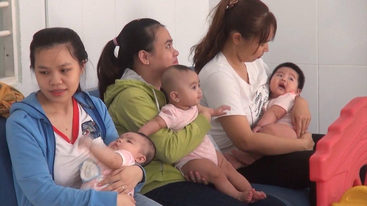 Đắk Lắk :Tiêm bổ sung vắc xin sởi, rubella cho trẻ em tại các xã khó khăn